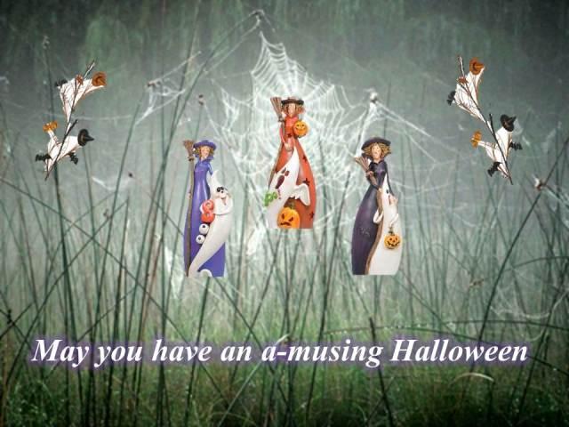 an a-musing halloween
